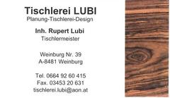 Tischlerei Lubi